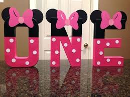 minnie mouse 1st birthday party ideas minnie mouse 1st birthday party decoration ideas baby photo 3 of