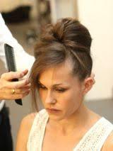 Hochsteckfrisurenen Selber Machen Glatte Haare by Lange Glatte Haare Toupieren Bilder