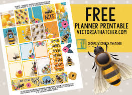 100 mrs black s bees print and go thanksgiving printables