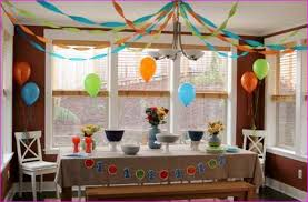 Simple Birthday Decoration Ideas At Home Birthday Party Ideas For 10 Year Old Boys At Home Simple Image