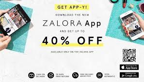 Mobile App Promo Code At Zalora Philippines
