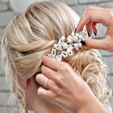 headdress for wedding bridal headpiece pearl wedding hair bridal