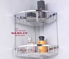 corner shower basket for small bathroom design options