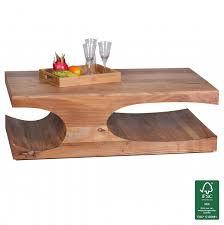 Wohnzimmertisch Natur Couchtische Und Andere Tische Von Finebuy Online Kaufen Bei Möbel