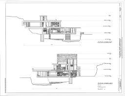 100 kaufmann house floor plan architectural history eye on