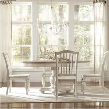 Outstanding Weathered Round Dining Table And West Elm Addison With - Antique white oval pedestal dining table