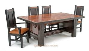 Western Dining Room Barn Wood Dining Chair Rustic Seating Western Dining Chairs