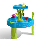 step2 spill splash seaway water table step2 spill splash seaway water table with umbrella jcpenney