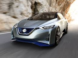 car nissan surf the web at 75 mph while nissan u0027s electric ids concept handles