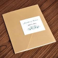 Affordable Pocket Wedding Invitations Elegant Gold And Green Pocket Wedding Invitations Ewpi022 As Low