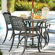 attractive metal outdoor table and chairs patio furniture outdoor