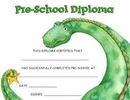 preschool diploma preschool printable diplomas city espora co