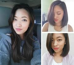 before and after picuters of long to short hair changes andsaltwater fashion beauty lifestyle blog by