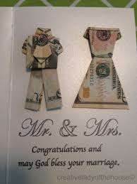 wedding gift or money wedding gift creative of the house