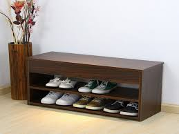 Modern Bench With Storage Practical Bench Shoe Storage Home Inspirations Design