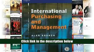 pdf international purchasing and management alan branch trial