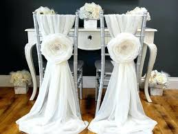 sashes for sale wedding chair sashes chic ivory wedding chair sash decoration by