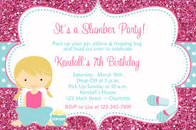 sleepover party invites slumber party birthday invitation pajama party sleepover