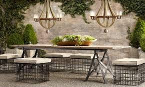 restoration hardware outdoor furniture innovative restoration