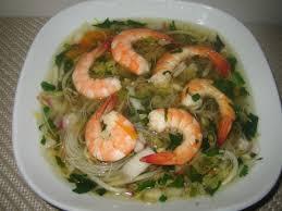 cuisine crevette soupe thaï aux crevettes citronnelle et gingembre cuisine