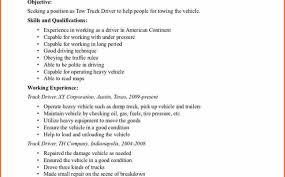 100 truck driving resume examples printable job description