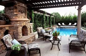 Simple Backyard Patio Designs by Exterior Simple Backyard Patio With Bricks Stone Floor And
