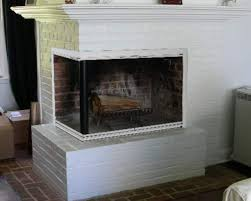 Polished Brass Fireplace Doors by Pictures Of Fireplaces With Glass Doors Before And After