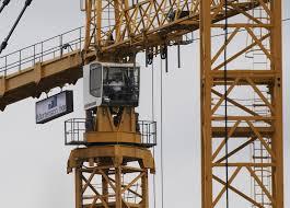 vikings stadium crane operators swing carefully from 300 feet in