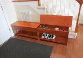 Bedroom Storage Bench Bench Satisfactory Wooden Bench Storage Unit Appealing Wooden