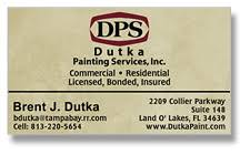 Business Cards Painting Business Cards Business Card Printing And Design Nationwide Service