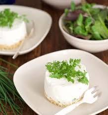 canap entr s froides cheesecakes aux herbes fraîches et à l huile aux cèpes la cuisine d
