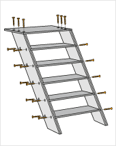 treppe bauen kinderbett selber bauen mit hornbach schweiz