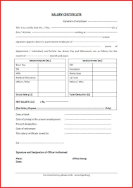 beautiful annual salary statement format resume for a job