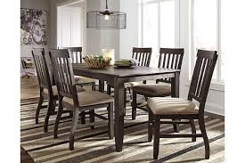 Dresbar Dining Room Table Ashley Furniture HomeStore - Ashley furniture dining table images