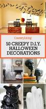 How To Make Little Ghost Decorations 40 Easy Diy Halloween Decorations Homemade Do It Yourself