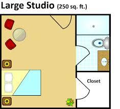 senior living floor plans grand villa of pinellas park s studio