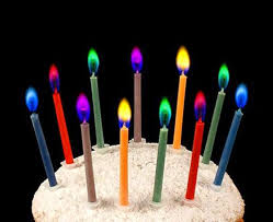 cool birthday candles color candles light up the colorful birthday candles