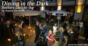 Blind Dining Singapore Dining In The Dark Berlin U0027s Unsicht Bar