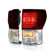 2010 toyota tundra tail light bulb replacement 2010 2013 toyota tundra oem style replacement tail lights pair smoked