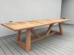 Western Furniture Hand Made Western Red Cedar Outdoor Dining Table By Dereva