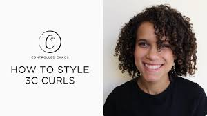 3a Curly Hair Extensions by How To Style 3c Curly Hair Youtube