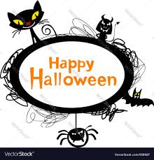 happy halloween vector halloween cartoons royalty free vector image vectorstock