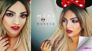 minnie mouse makeup tutorial halloween 2016 youtube