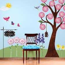 flower wall decals for girls room peel stick flower stickers splendid flower garden wall decal sticker kit jumbo set