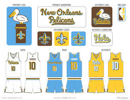 New Orleans Flag Uni Watch Analyzes The New Look New Orleans Pelicans Fandom