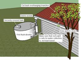water collection tanks and safe household water healthed