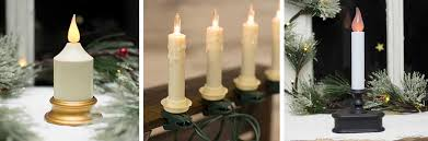 Electric Candle Lights For Windows Designs Lights Garland Branches