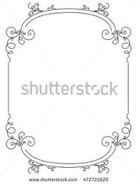 vector vintage floral ornamental frame design by 123freevectors