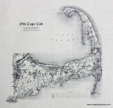 old cape cod antique maps and charts u2013 original vintage rare