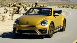 volkswagen thing yellow first drive vw beetle dune cabriolet 2015 2016 top gear